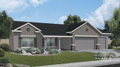 Meridian Single Family Home New: 1222 W Elias Dr.