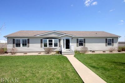 Lexington Single Family Home For Sale: 26151 E Cr 2500 North Rd