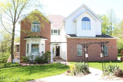 Downs Single Family Home For Sale: 9168 Abbey Way