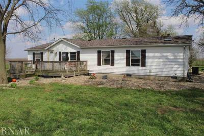 LeRoy Single Family Home For Sale: 31775 E 100 North Rd.