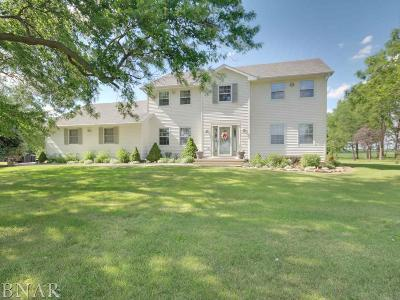 Normal Single Family Home For Sale: 19906 E 1600 North Rd