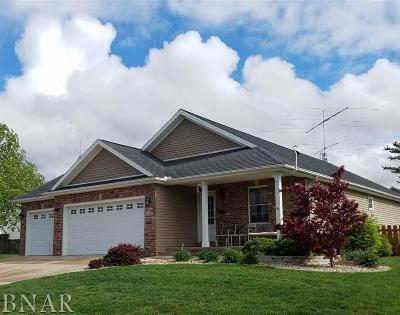Heyworth Single Family Home For Sale: 1104 Wakefield