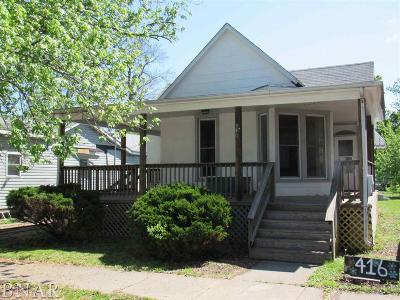 Clinton IL Single Family Home For Sale: $34,900