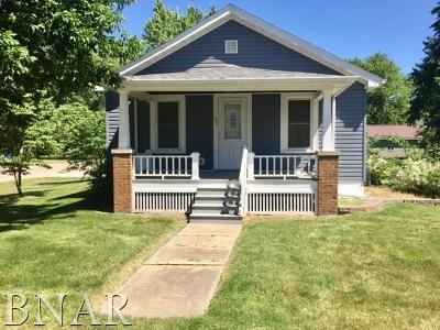 Heyworth Single Family Home For Sale: 302 E Cleveland