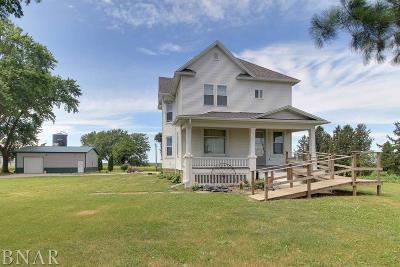 Farmer City Single Family Home For Sale: 3170 N 900 East Road