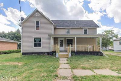 Mackinaw Single Family Home For Sale: 406 S Monroe