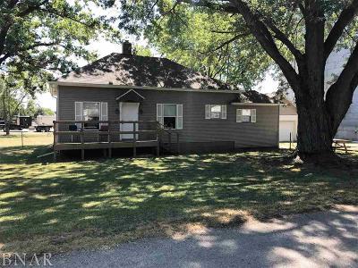 Clinton IL Single Family Home For Sale: $59,900