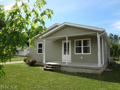 Clinton IL Single Family Home For Sale: $99,000