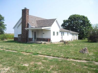 DeWitt Single Family Home For Sale: 204 N Bloomington
