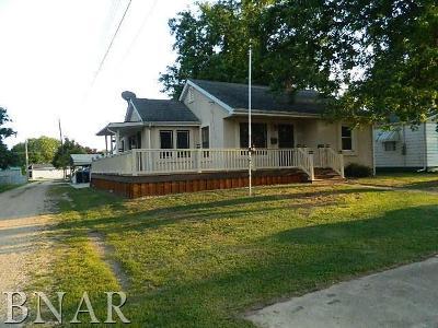 Clinton IL Single Family Home For Sale: $82,500