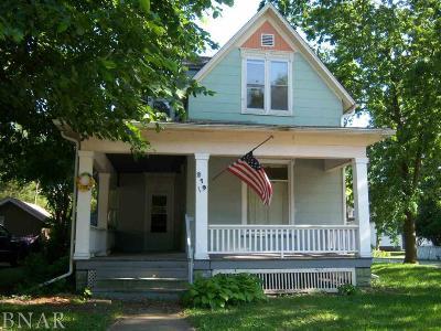 Farmer City Single Family Home For Sale: 219 W Market Street