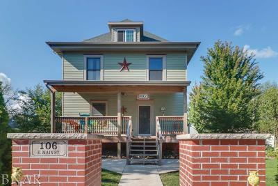 Downs Single Family Home For Sale: 106 E Main