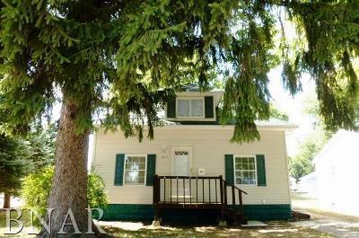 Clinton IL Single Family Home For Sale: $78,000