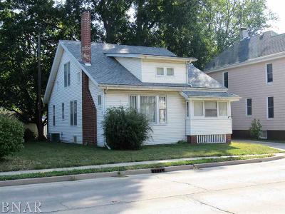 Clinton IL Single Family Home For Sale: $59,900