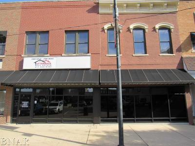 Clinton IL Commercial For Sale: $99,500