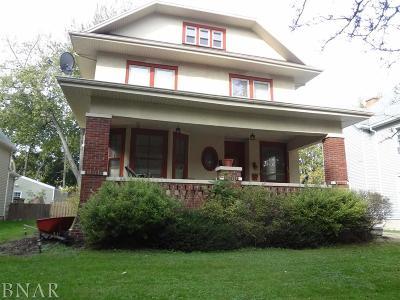 Clinton IL Single Family Home For Sale: $134,900