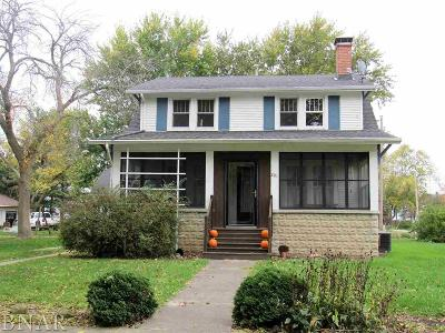 Ellsworth IL Single Family Home Pending: $119,500
