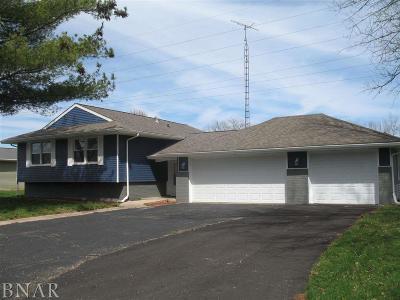 Clinton IL Single Family Home For Sale: $139,500