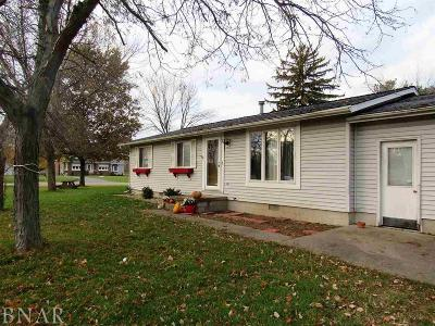 Clinton IL Single Family Home For Sale: $81,900