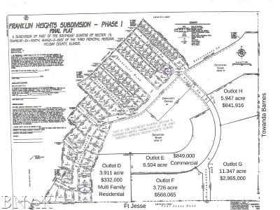 Bloomington Residential Lots & Land For Sale: 417 Towanda Barnes