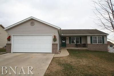 Mackinaw Single Family Home For Sale: 406 Coventry