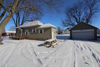 Clinton IL Single Family Home For Sale: $55,500