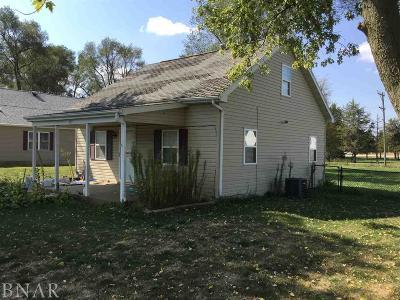 Wapella IL Single Family Home For Sale: $25,600