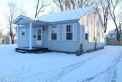 Clinton IL Single Family Home For Sale: $89,900