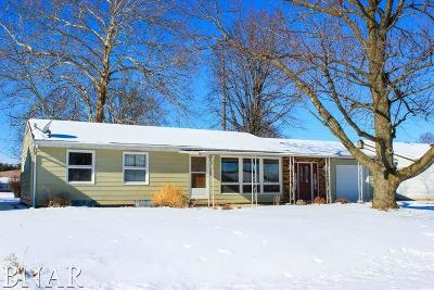 Clinton IL Single Family Home For Sale: $124,900