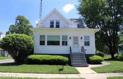Farmer City Single Family Home For Sale: 321 S Washington
