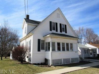 Clinton IL Single Family Home For Sale: $87,900