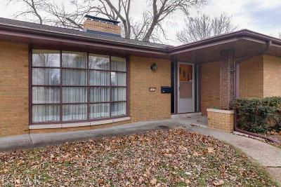 Normal Single Family Home For Sale: 907 Hanlin Ct