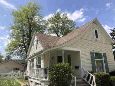 Clinton Single Family Home For Sale: 709 N Jackson
