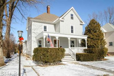 LeRoy Single Family Home For Sale: 720 E Center