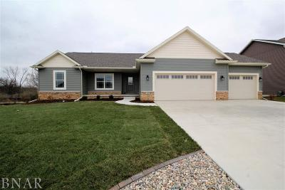 Downs Single Family Home For Sale: 113 Dode