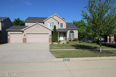 Normal Single Family Home For Sale: 1207 Big Horn