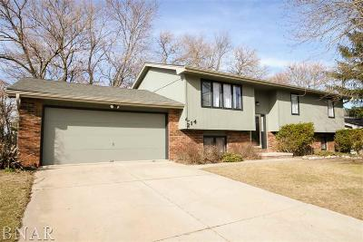 Normal Single Family Home For Sale: 214 Saratoga