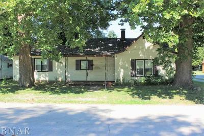 Clinton IL Single Family Home For Sale: $29,900