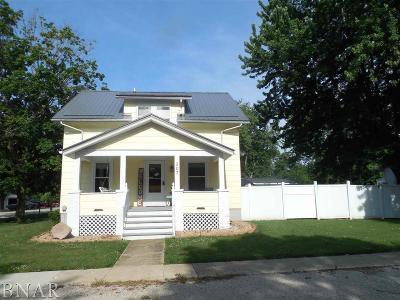 Heyworth Single Family Home For Sale: 307 S Poland