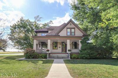 Chenoa Single Family Home For Sale: 328 Pickett