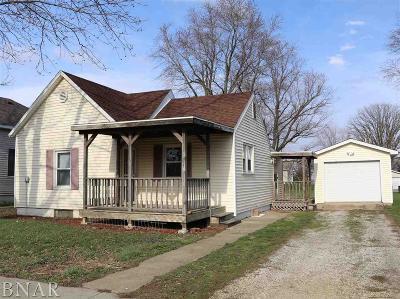 Wapella Single Family Home For Sale: 116 S Locust