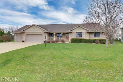 Downs Single Family Home For Sale: 9358 Abbey Way
