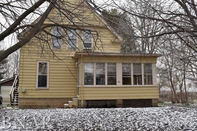 Normal Single Family Home For Sale: 100 E Poplar St