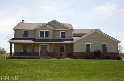 Wapella Single Family Home For Sale: 7966 Heron's Glenn Court