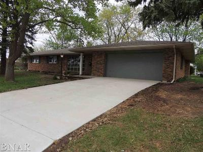 Normal Single Family Home For Sale: 2 S Blair Drive
