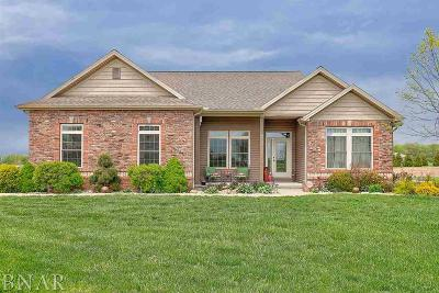 Wapella Single Family Home For Sale: 7979 Heron's Glen Ct