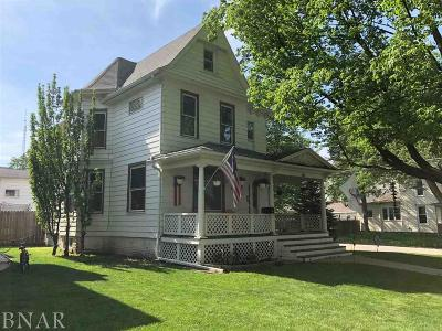 Clinton Single Family Home For Sale: 623 N Jackson