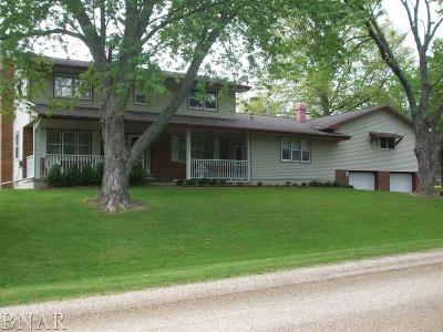 Heyworth Single Family Home For Sale: 4661 Circle Dr