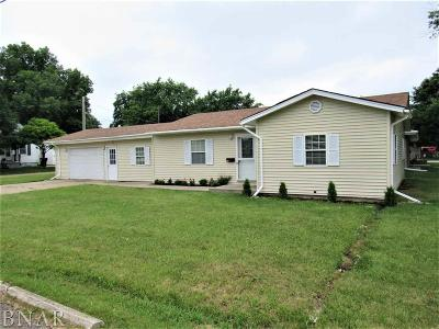 Clinton IL Single Family Home For Sale: $89,500
