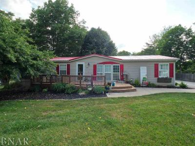 Heyworth Single Family Home For Sale: 318 N Joselyn